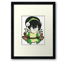 Avatar the Last Airbender || Toph Framed Print