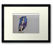 Galaxy Girl Framed Print