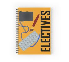 Electives Spiral Notebook