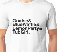 "Helvetica ""&"" - Shock Sites Unisex T-Shirt"