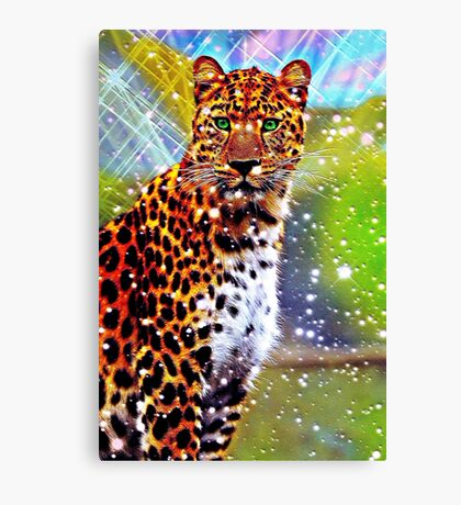 Abstract Leopard Canvas Print