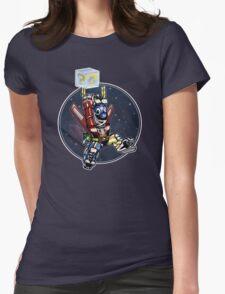 Super Retro Bro! Womens Fitted T-Shirt