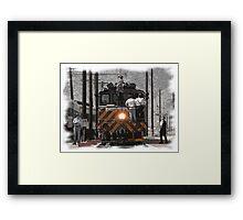 Train Men Framed Print