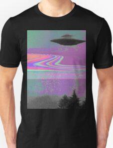 Psychedelic UFO Unisex T-Shirt