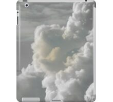 Monochrome clouds iPad Case/Skin