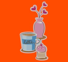 A very cute Coffee Break! Kids Tee