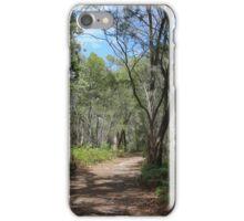 A walk in the bush iPhone Case/Skin