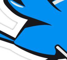 Vogel fliegen süss witzig comic  Sticker