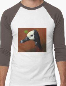 Blue Billed Duck Men's Baseball ¾ T-Shirt