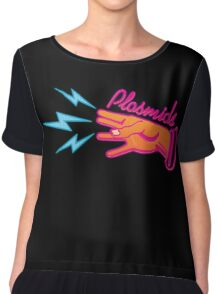 """Plasmids"" sign Chiffon Top"