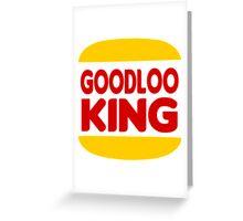 Good Looking: Vintage Burger King Parody Greeting Card