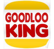 Good Looking: Vintage Burger King Parody Poster