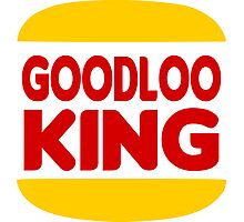 Good Looking: Vintage Burger King Parody Photographic Print
