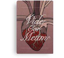 Vide Cor Meum Canvas Print