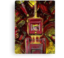 Pocket Power - RED VERSION Canvas Print