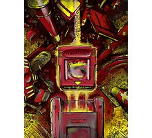 Pocket Power - RED VERSION Photographic Print