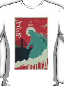 Godzilla: All Hail the King T-Shirt