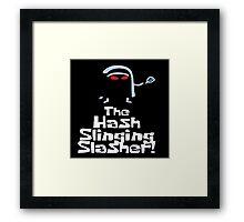 the gosht slasher  Framed Print