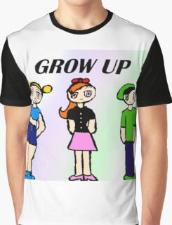 Grow Up Powerpuff Girls Graphic T-Shirt