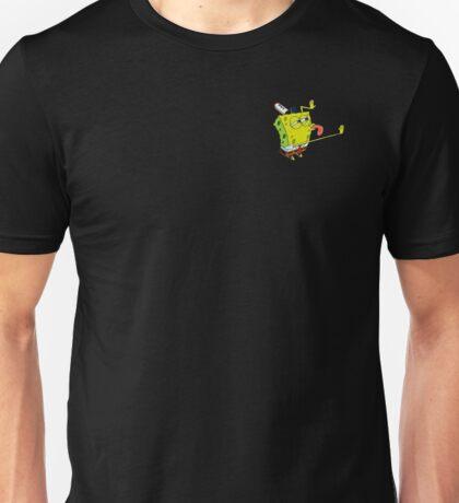 Transparent SpongeBob Lick Meme Unisex T-Shirt