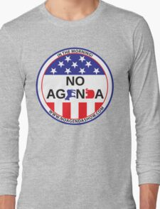 No Agenda Badge of Courage Long Sleeve T-Shirt