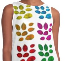 Splotches of Color Contrast Tank