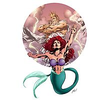 Mighty Mermaid Photographic Print