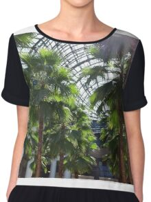 palm trees Chiffon Top