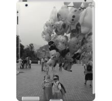 Two Young Girls with Balloons iPad Case/Skin