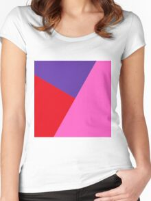 """geometric art 163"" Women's Fitted Scoop T-Shirt"