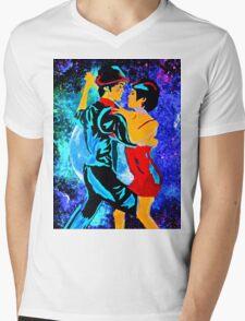 TANGO Mens V-Neck T-Shirt