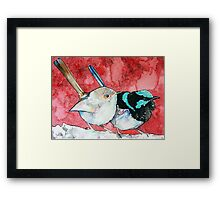 Pair of Wrens Framed Print