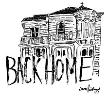 back home Photographic Print