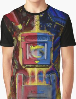 Pocket Power - Red vs Blue Graphic T-Shirt