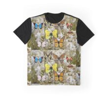 Patch of Butterflies Graphic T-Shirt