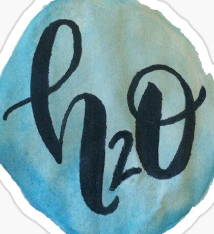 H2O Watercolor  Sticker