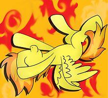 MLP:FiM Spitfire - Captain of the Wonderbolts by bluboisen