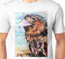Eagle with Blue Unisex T-Shirt