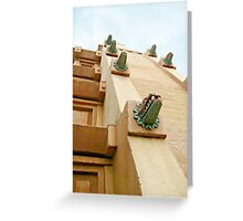 EPCOT World Showcase Mexico Pavilion Building Greeting Card