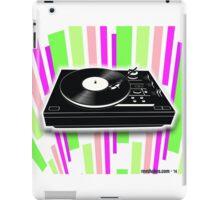 Cool Retro Record Player - 2 iPad Case/Skin