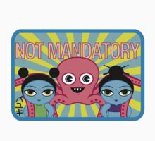 "Fruity Oaty Bar! ""NOT MANDATORY 2"" Shirt (Firefly/Serenity) One Piece - Short Sleeve"