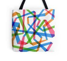 Rainbow Maze  Tote Bag
