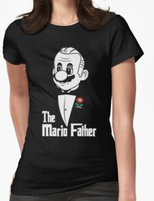 The Mario Father Womens Fitted T-Shirt