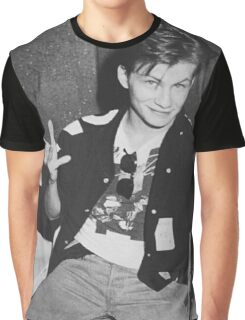 Young 80s Christian Slater  Graphic T-Shirt