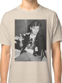Young 80s Christian Slater  Classic T-Shirt