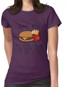 Lies of McDonalds Womens Fitted T-Shirt