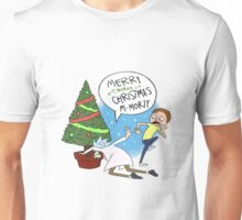 Rick And Morty Christmast Unisex T-Shirt
