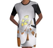 The INTERVIEW Graphic T-Shirt Dress