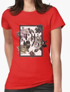 1975 Flower Womens Fitted T-Shirt