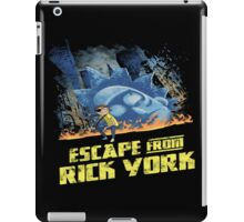 rick and morty escape from new york iPad Case/Skin